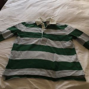 J Crew Rugby Shirt - new with tags - women small